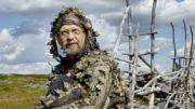 Jorma Huhta on asettanut Inarin Siidaan esille kuvia vaelluksiltaan. Kuva: Jorma Luhta