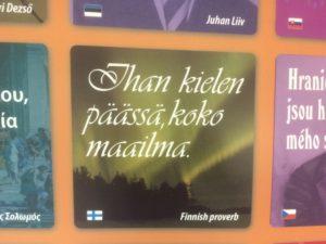 Euroopan kielten päivänä 26. syyskuuta voi juhlistaa myös suomen kieltä.