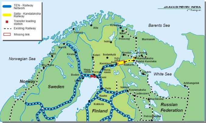 Image result for Jäämeren rata – utopiaa vai realismia?